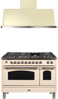 2 Piece Kitchen Appliances Package with UPN120FDMPAY 48