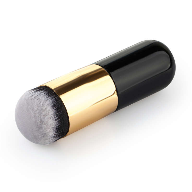 Chubby Pier Foundation Brush Flat Portable BB Cream Blush Makeup Tool