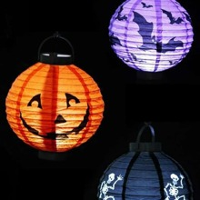 1pc Halloween Glowing Lantern