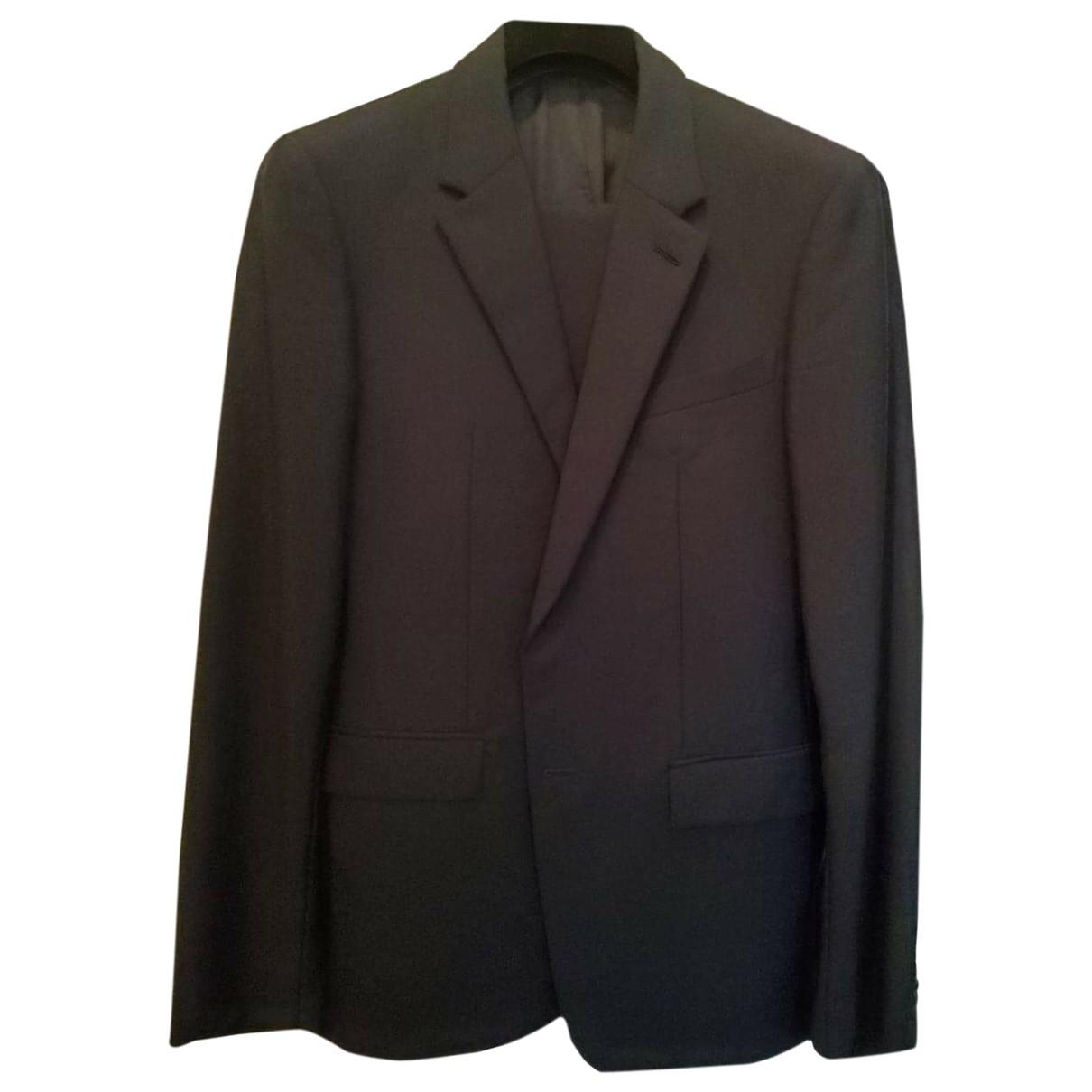 Balenciaga \N Navy Wool Suits for Men 48 IT