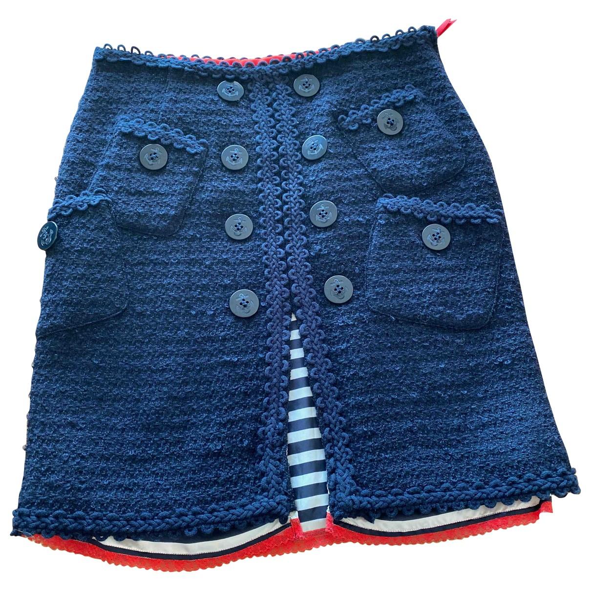 Paul Smith - Jupe   pour femme en laine - marine