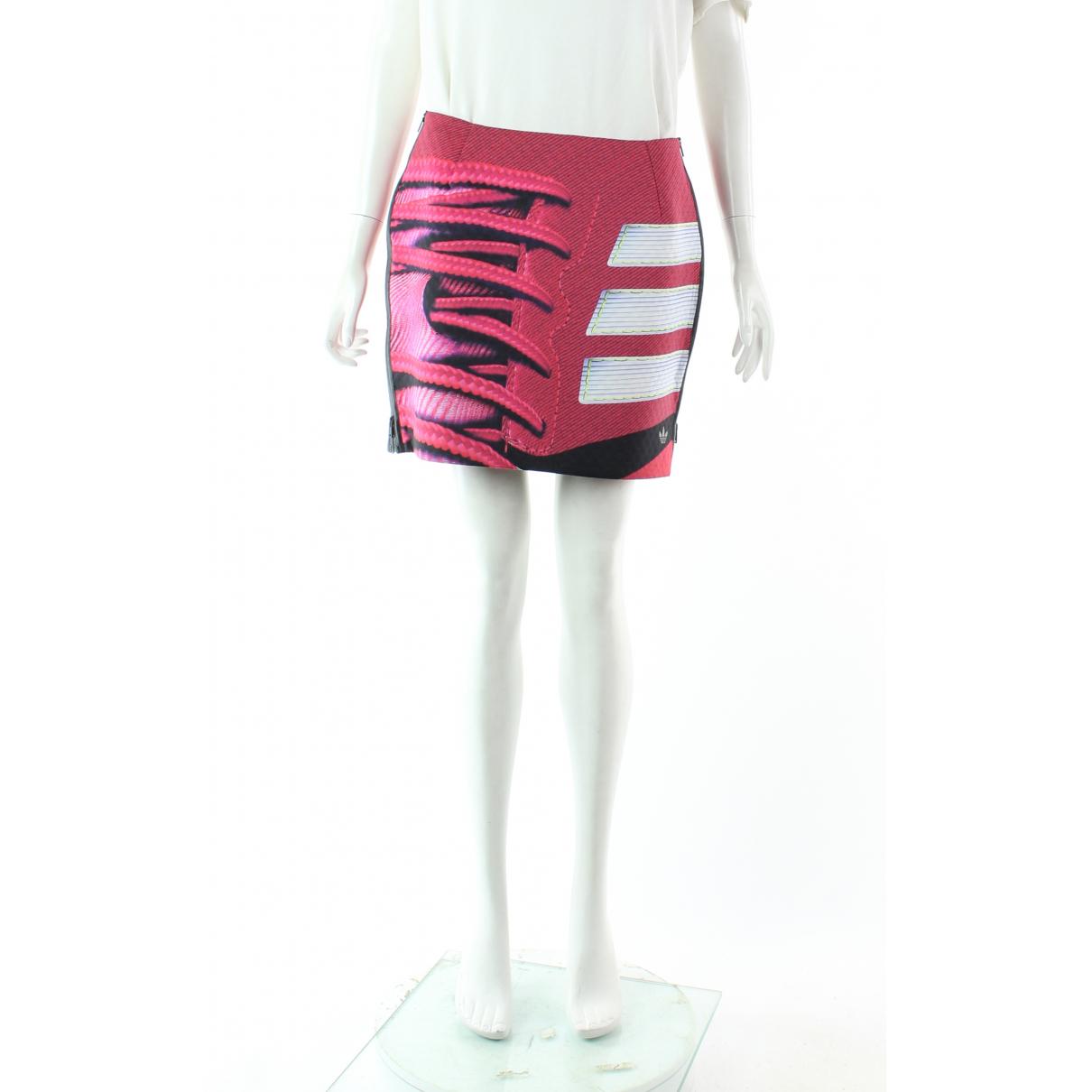 Mary Katrantzou For Adidas - Jupe   pour femme - rose