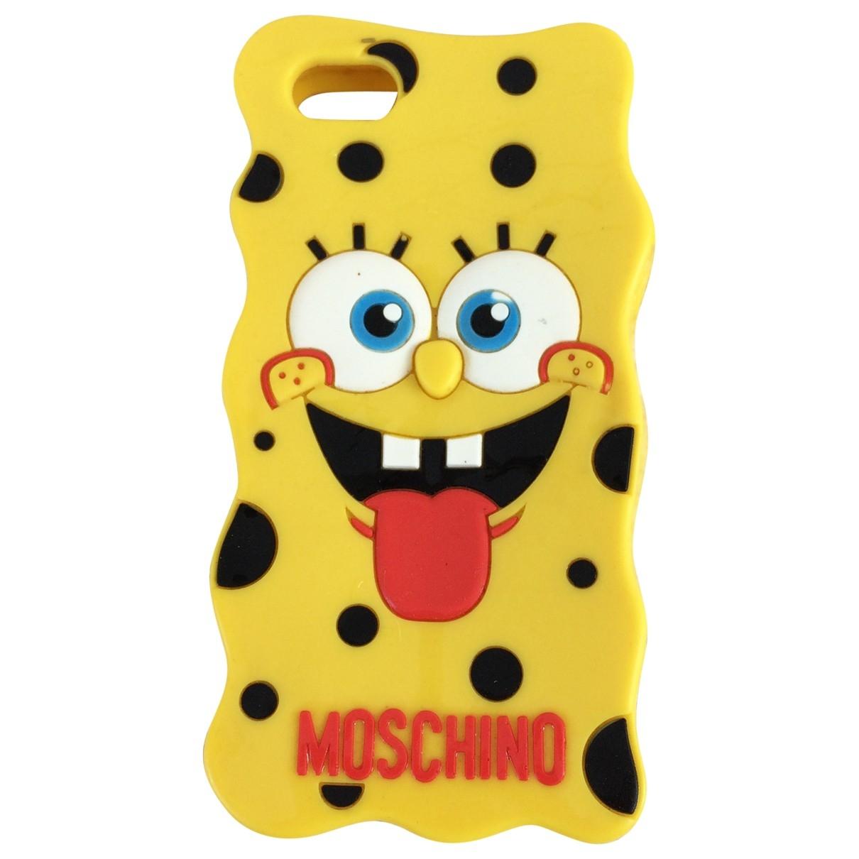 Moschino \N Accessoires in  Gelb Kunststoff