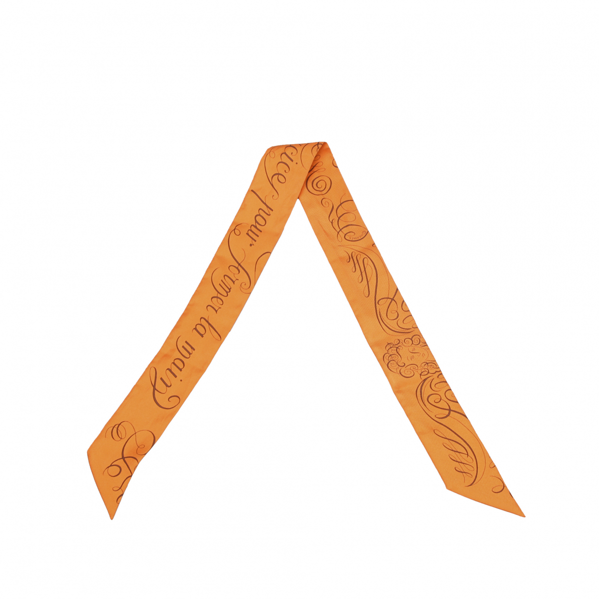 Hermes \N Schal Orange