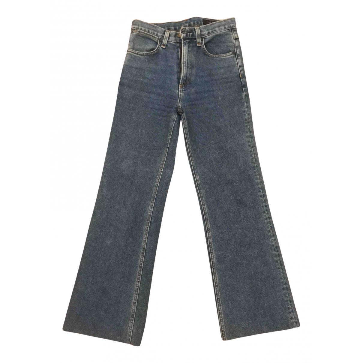 Rag & Bone N Blue Denim - Jeans Jeans for Women 24 US