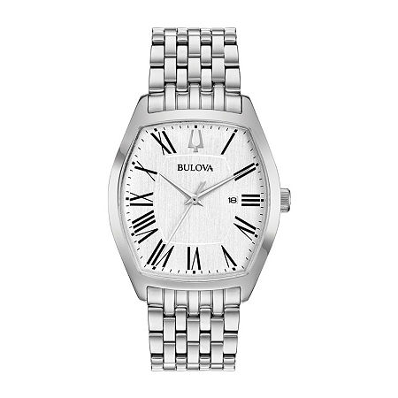 Bulova Womens Silver Tone Stainless Steel Bracelet Watch-96m145, One Size , No Color Family
