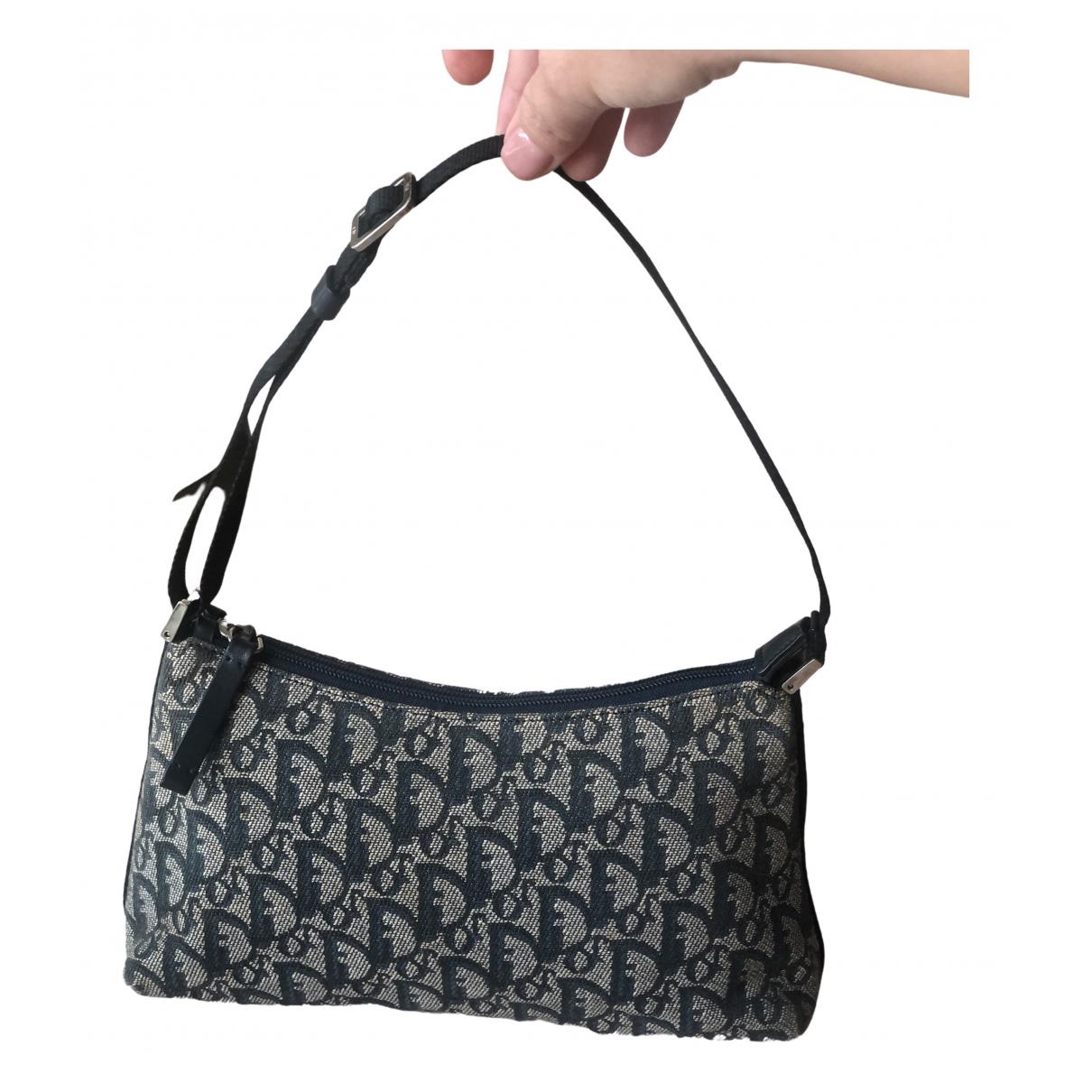 Dior \N Handtasche in  Schwarz Leinen