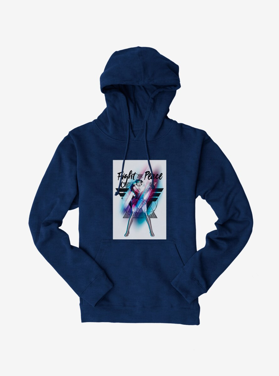 DC Comics Wonder Woman Fight For Peace Hoodie