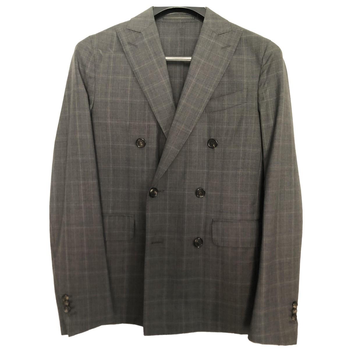 Dsquared2 \N Anzuege in  Grau Wolle