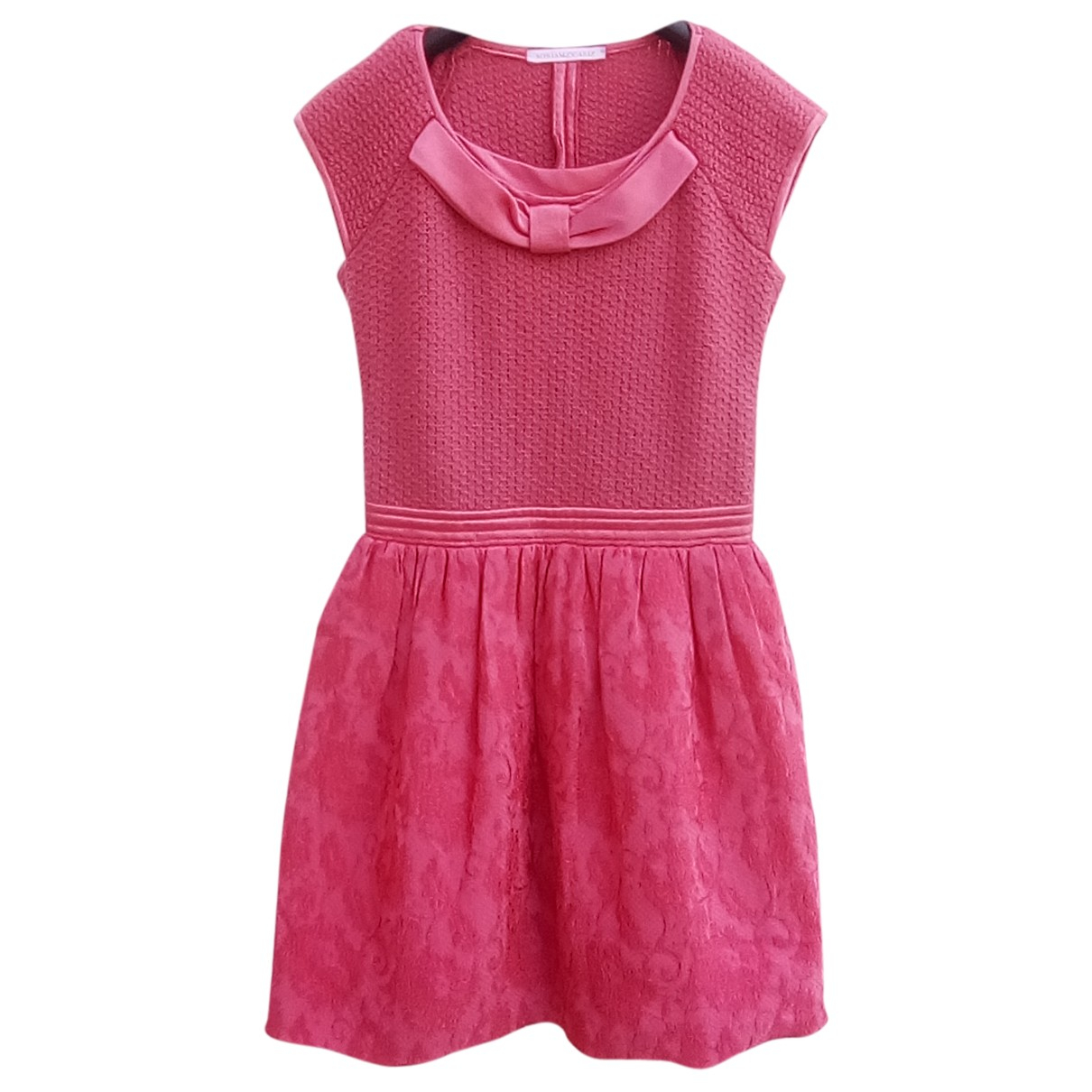 Miriam Ocariz \N Kleid in  Rosa Wolle