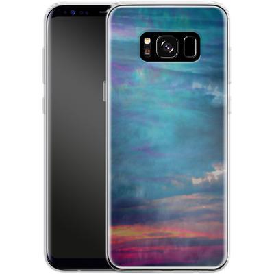Samsung Galaxy S8 Silikon Handyhuelle - Ocean Sky von Amy Sia