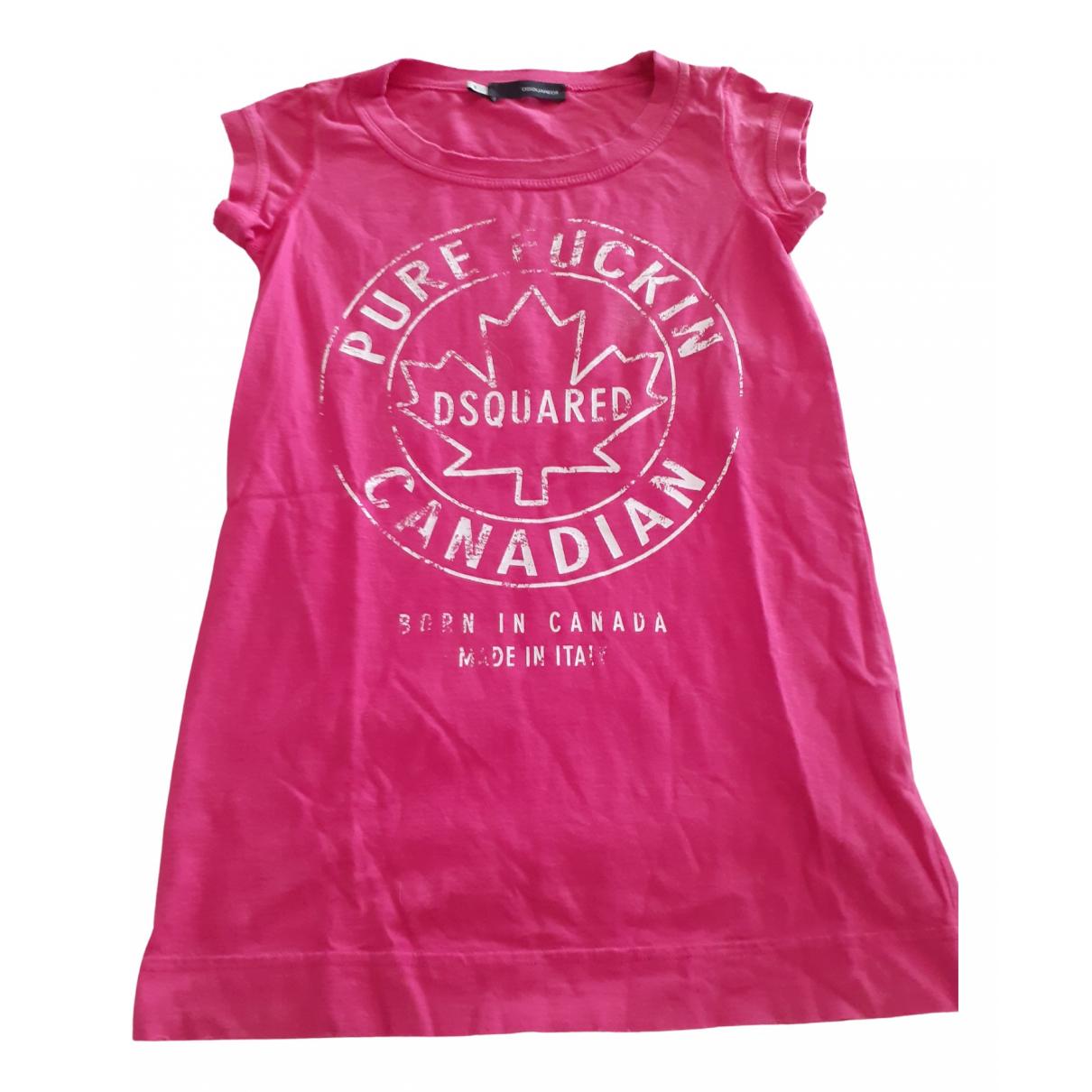Dsquared2 - Top   pour femme en coton - rose