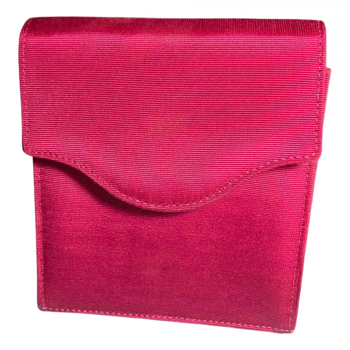 Tiffany & Co N Pink Silk handbag for Women N