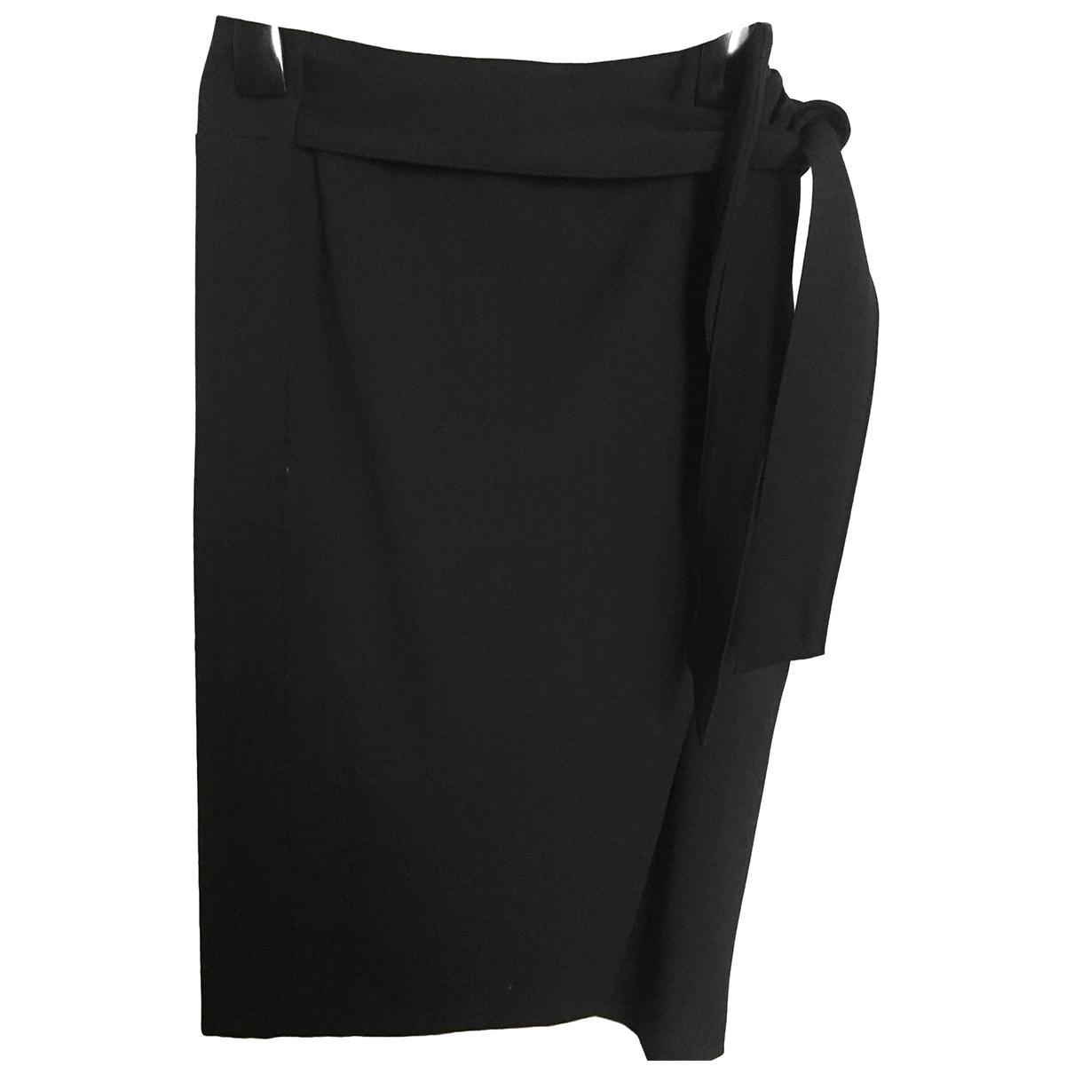 Sézane Fall Winter 2019 Black Wool skirt for Women 36 FR