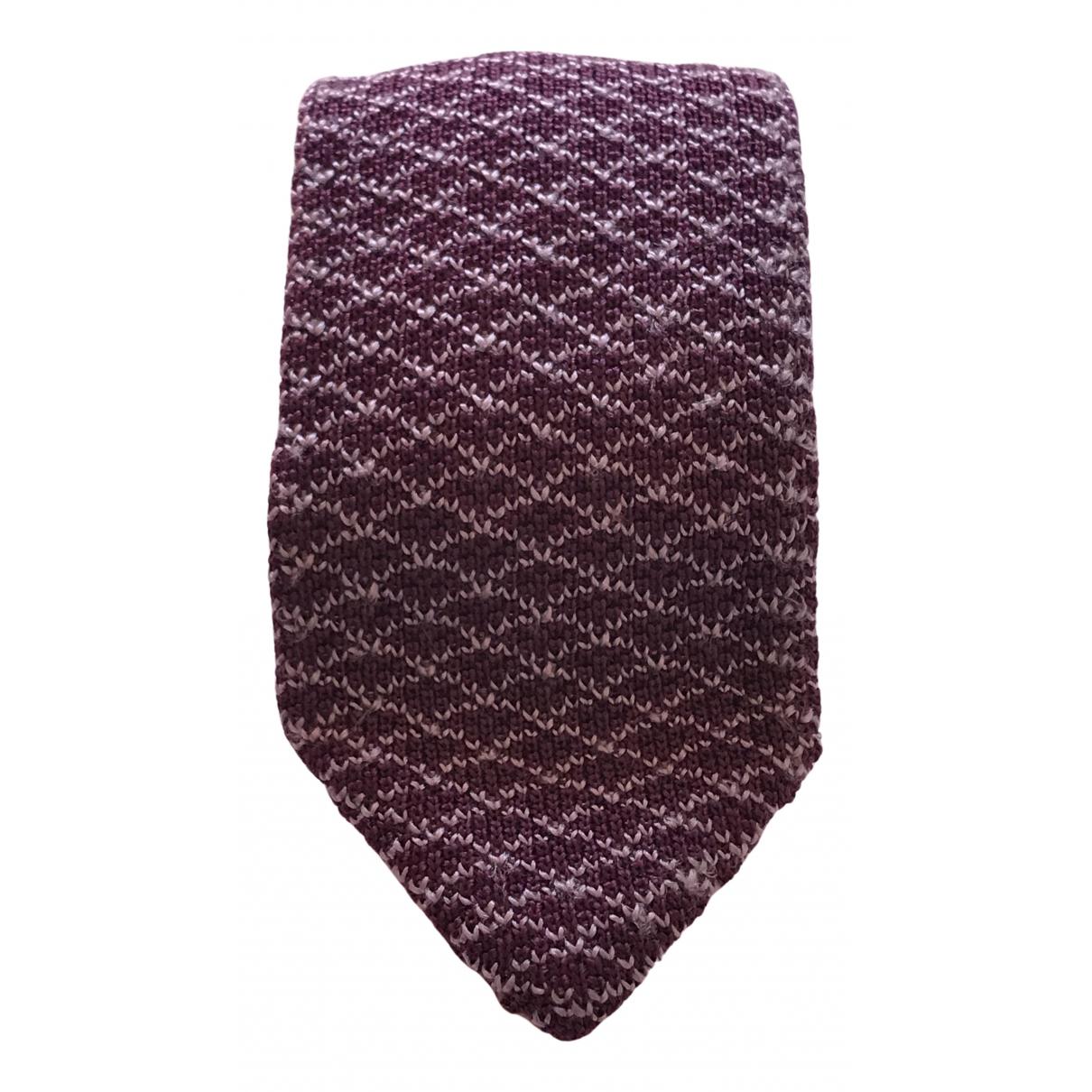 Tom Ford N Purple Silk Ties for Men N