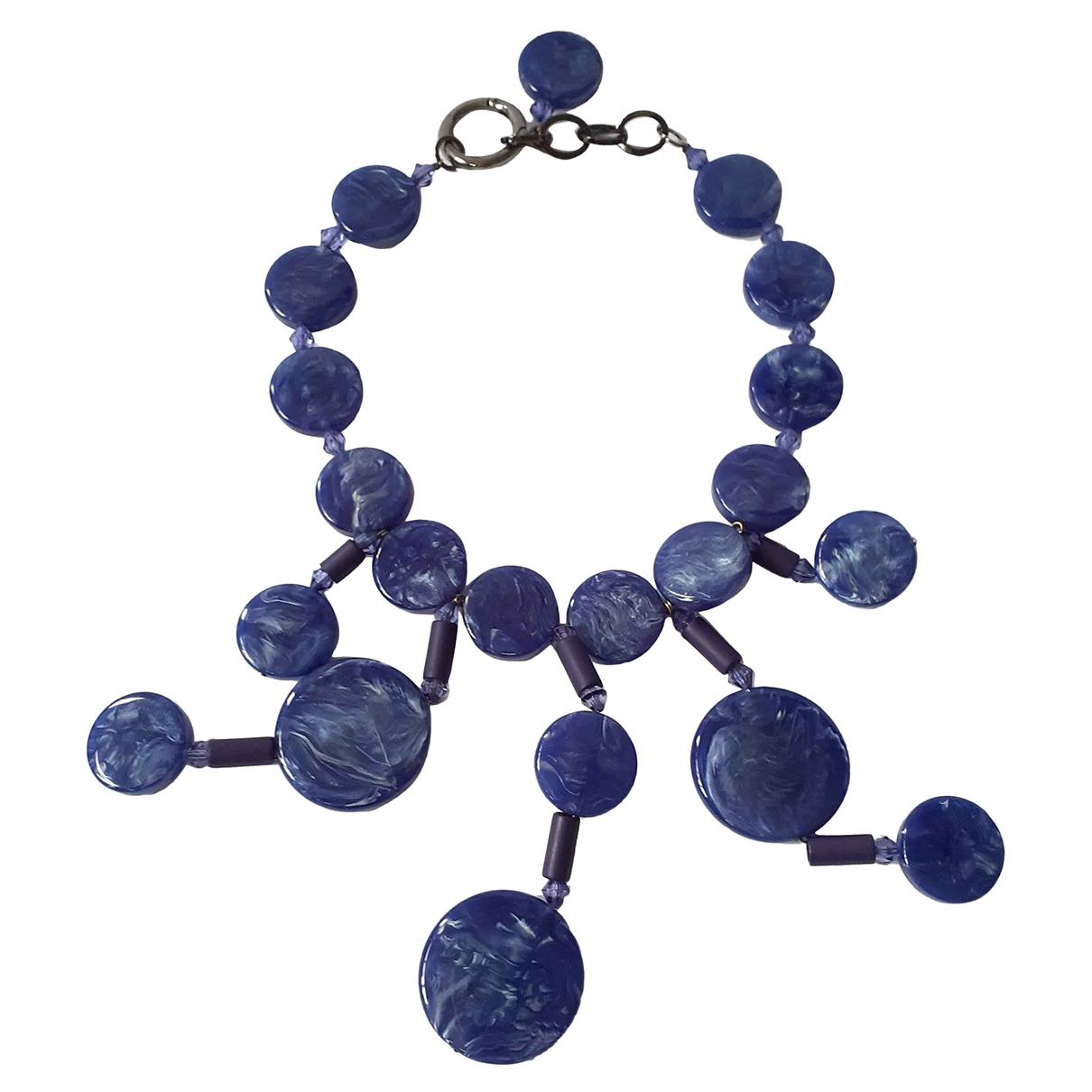 Emporio Armani \N Kette in  Blau Kunststoff