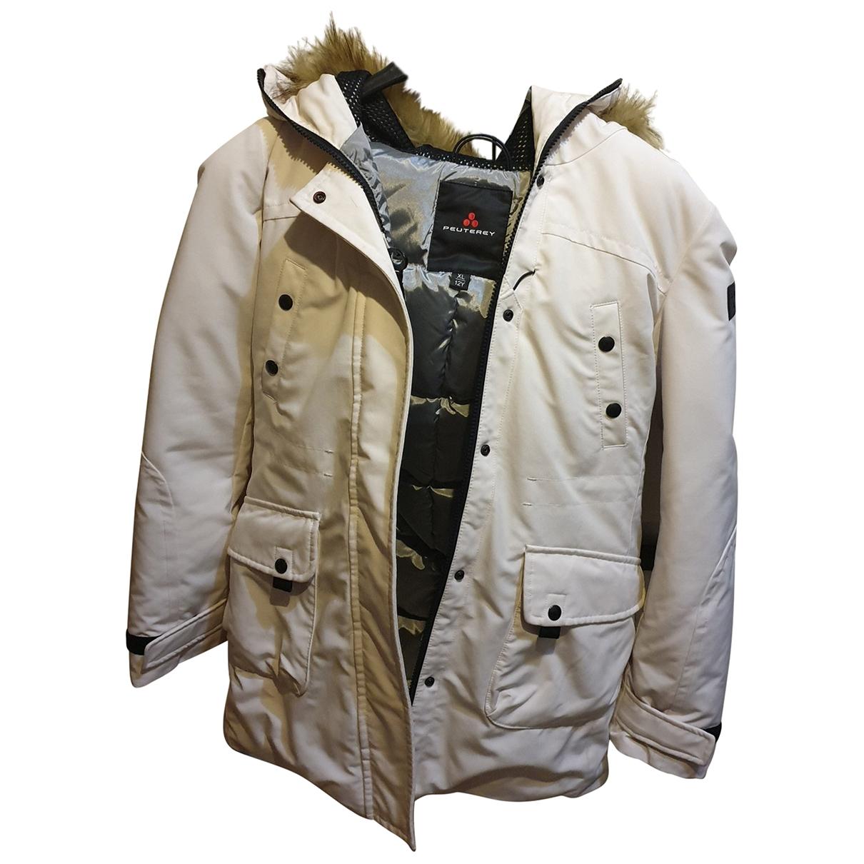 Peuterey - Blousons.Manteaux   pour enfant - blanc