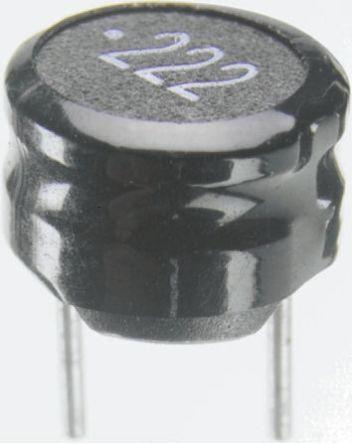 Wurth Elektronik Wurth 470 μH ±10% Ferrite Radial Inductor, 580mA Idc, 1.5Ω Rdc, WE-TI (10)