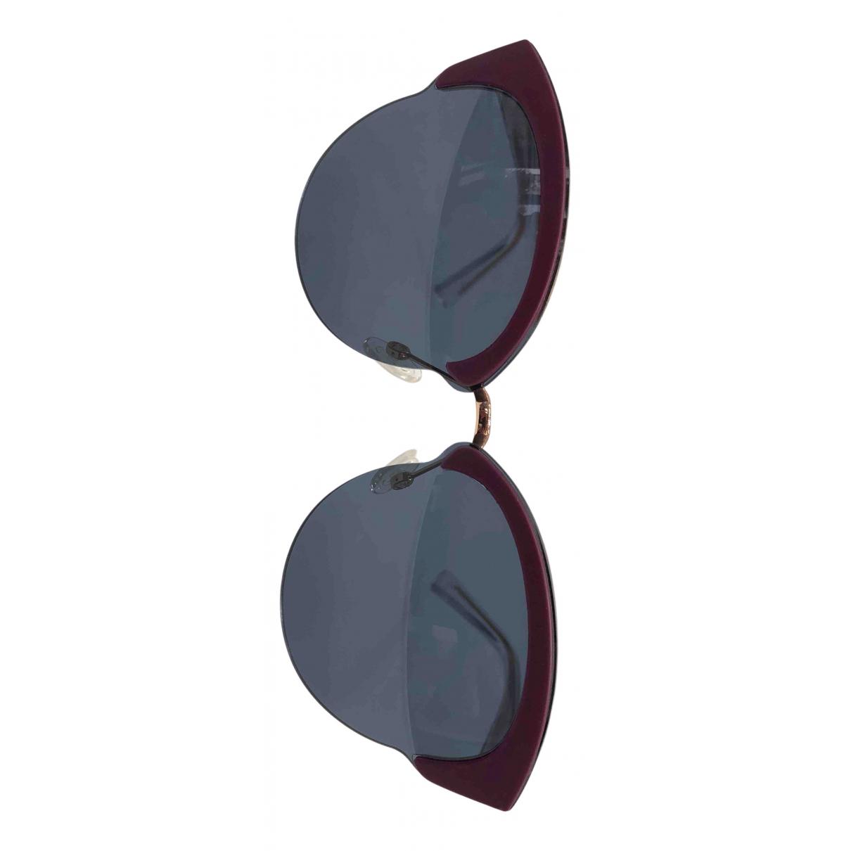 Dior N Purple Metal Sunglasses for Women N