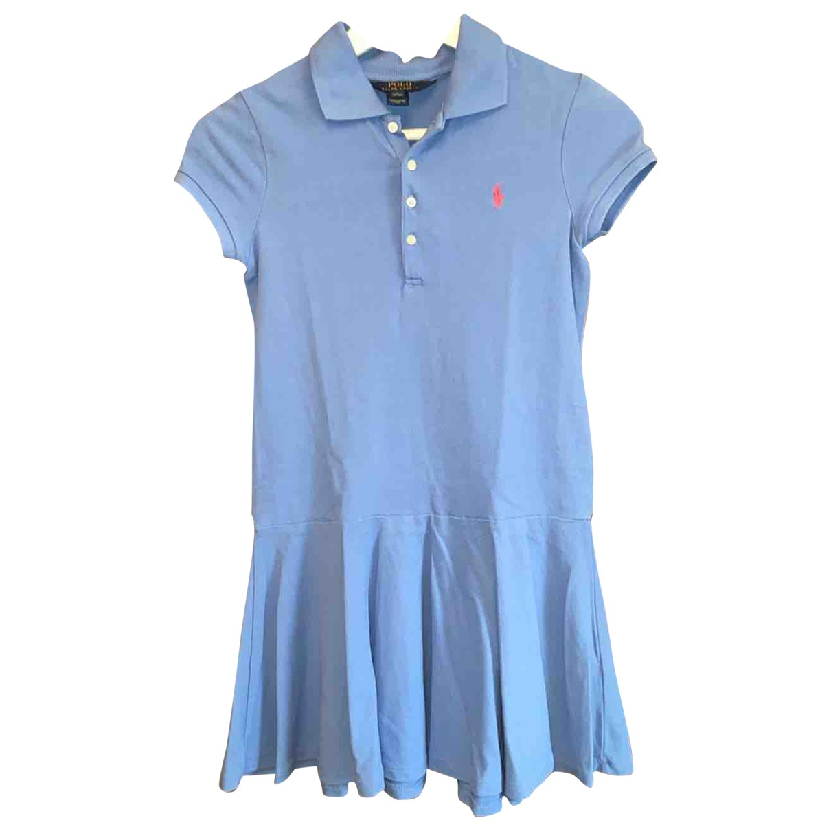 Polo Ralph Lauren \N Blue Cotton dress for Kids 14 years - S FR