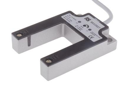 RS PRO Photoelectric Sensor Through Beam (Fork) 30 mm Detection Range NPN/PNP