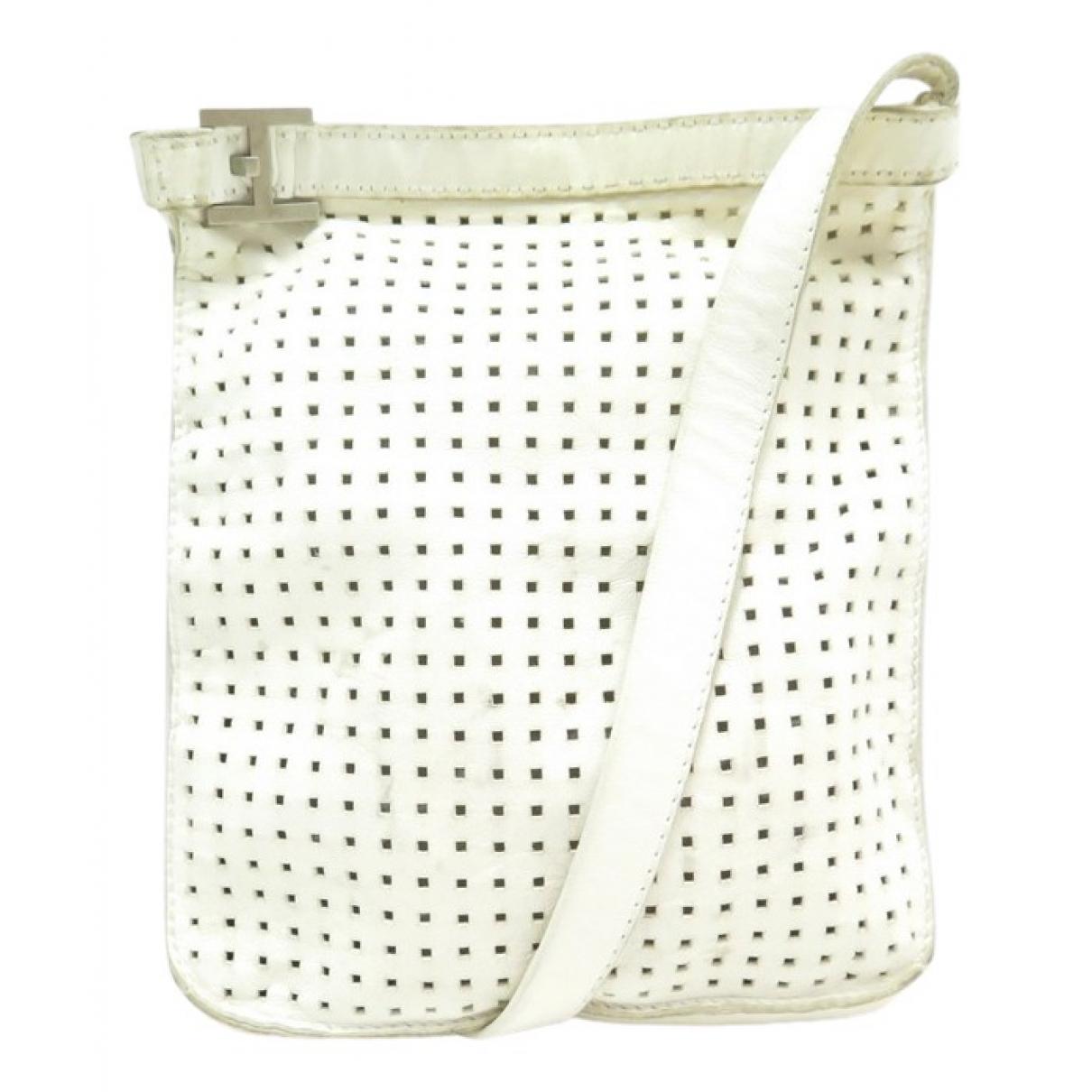 Hermès \N White Leather handbag for Women \N