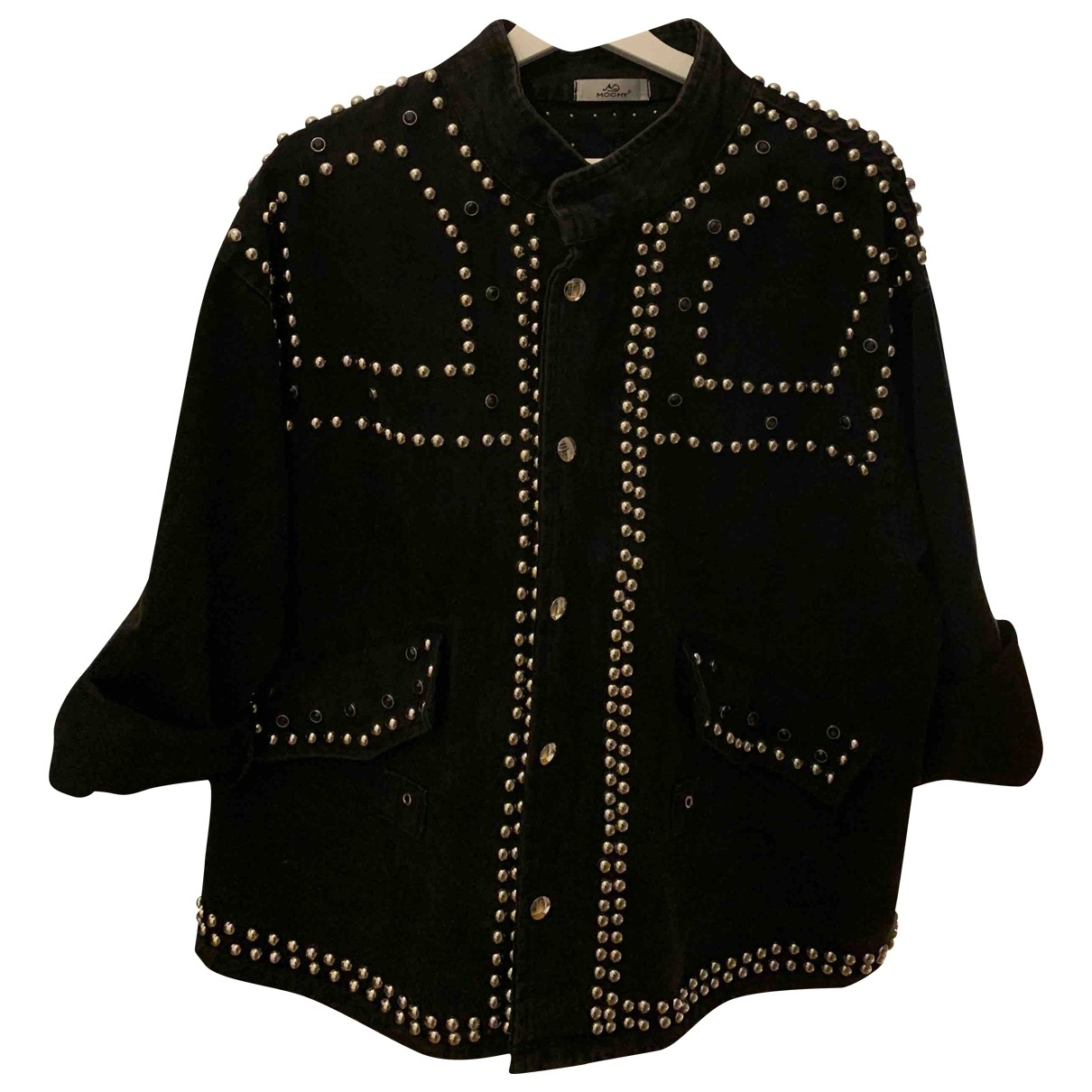 Non Signé / Unsigned Oversize Denim - Jeans jacket for Women 38 FR