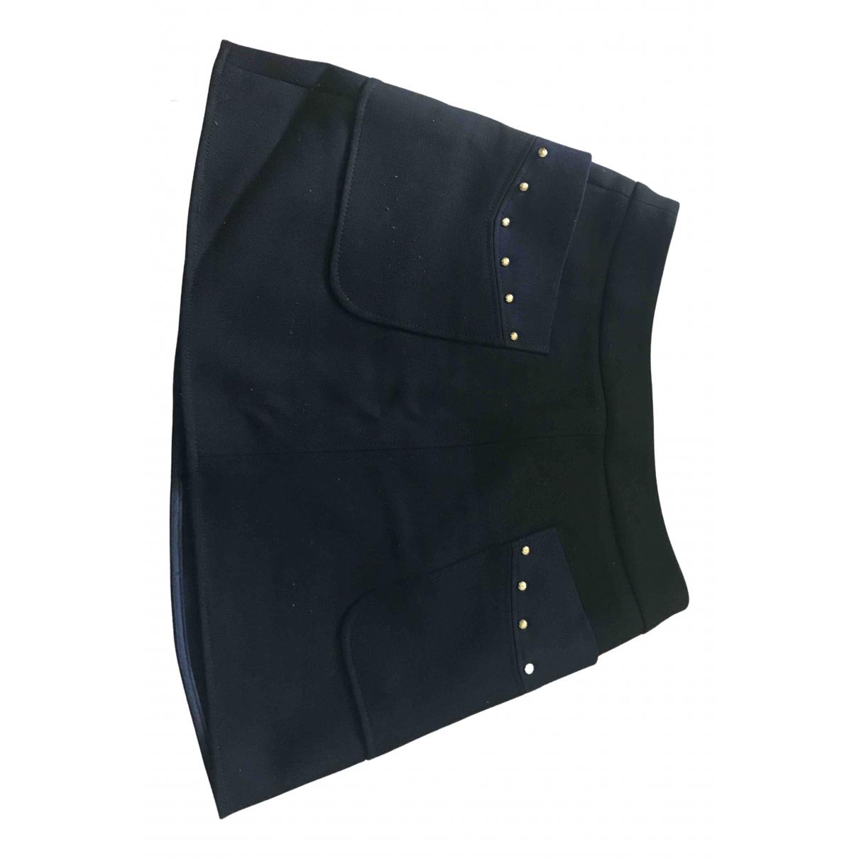Tara Jarmon N Black Wool skirt for Women 38 FR