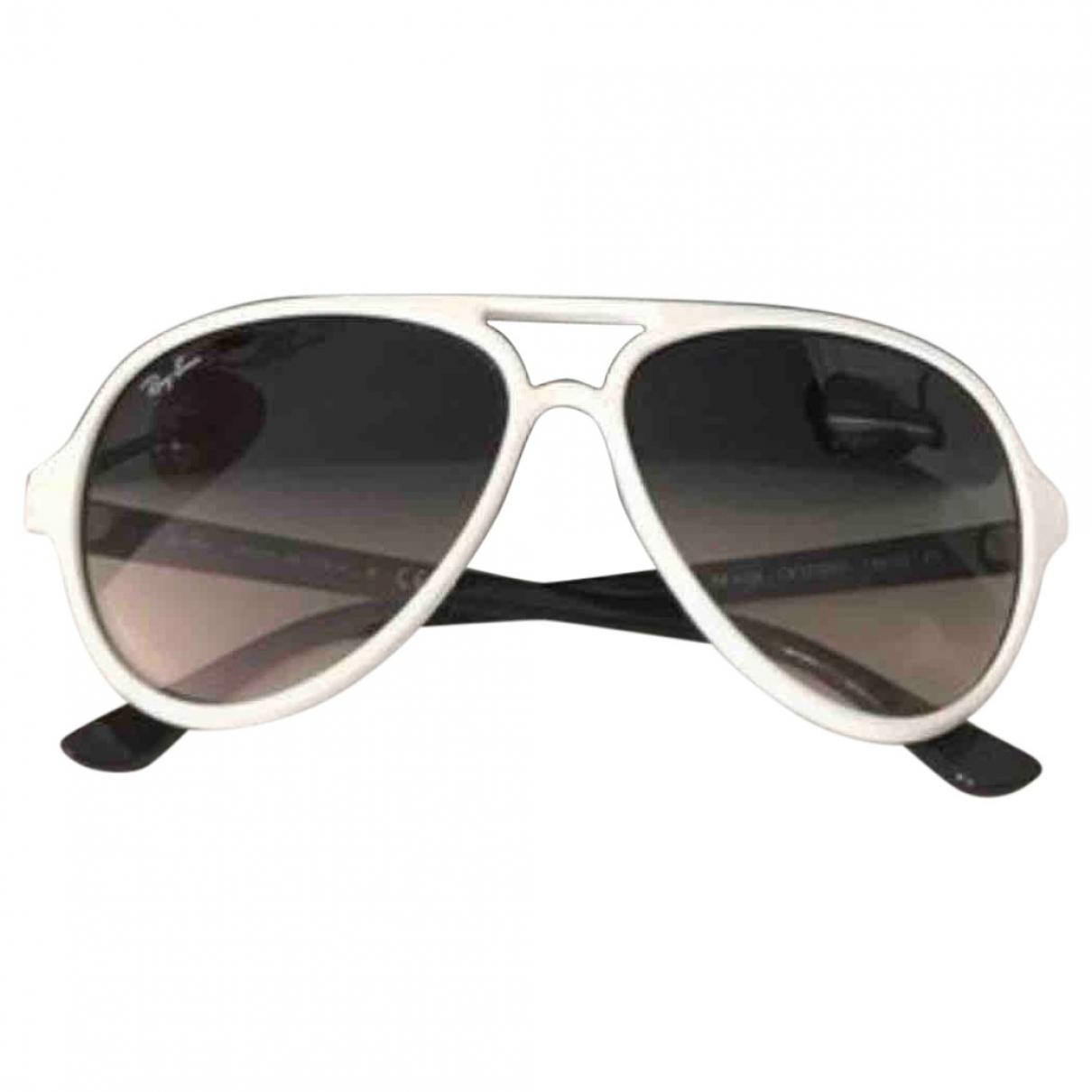 Ray-ban \N Sonnenbrillen in  Weiss Kunststoff