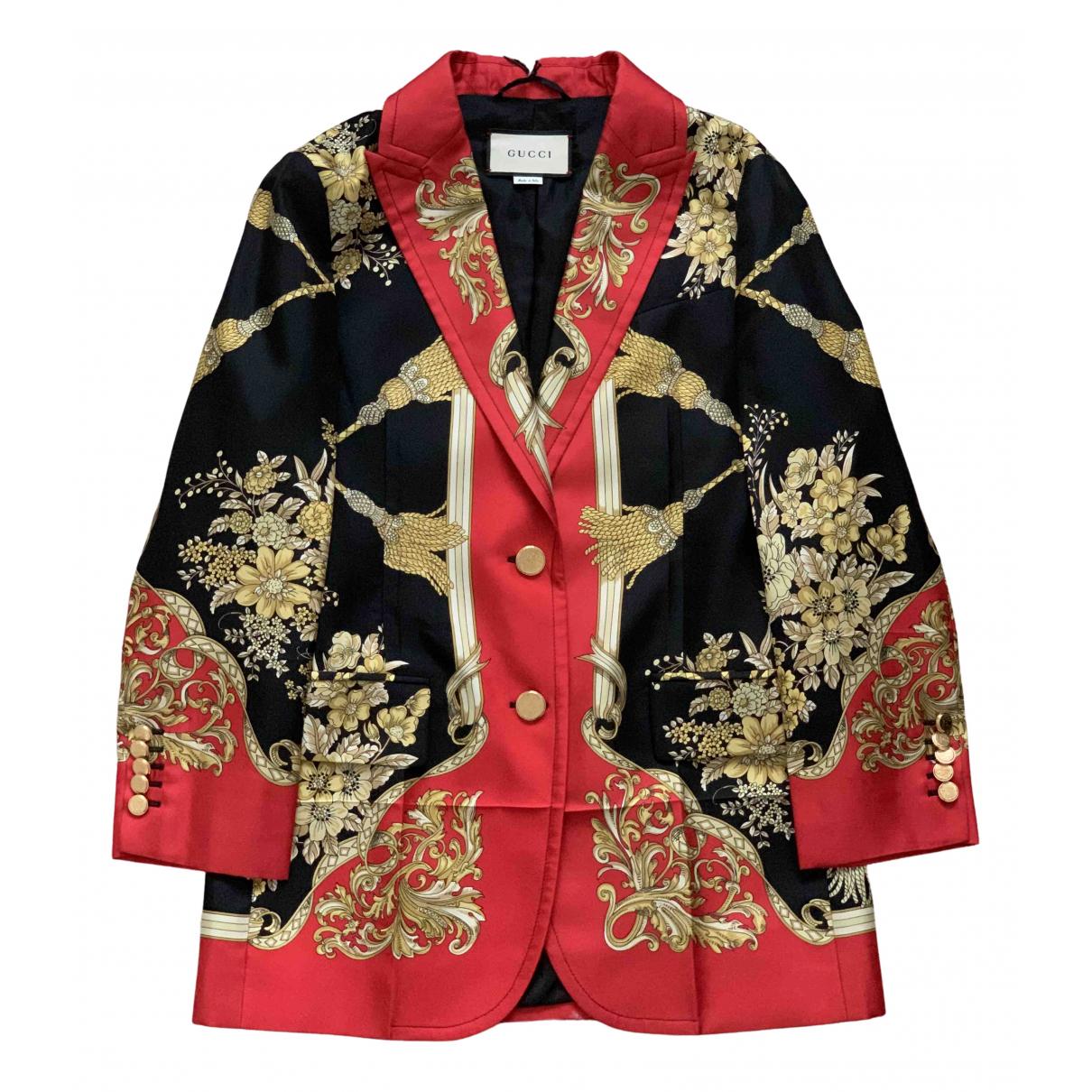 Gucci N Multicolour Silk jacket for Women 40 IT