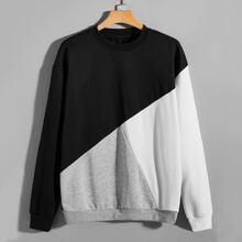 Pullover mit Cut und Sew