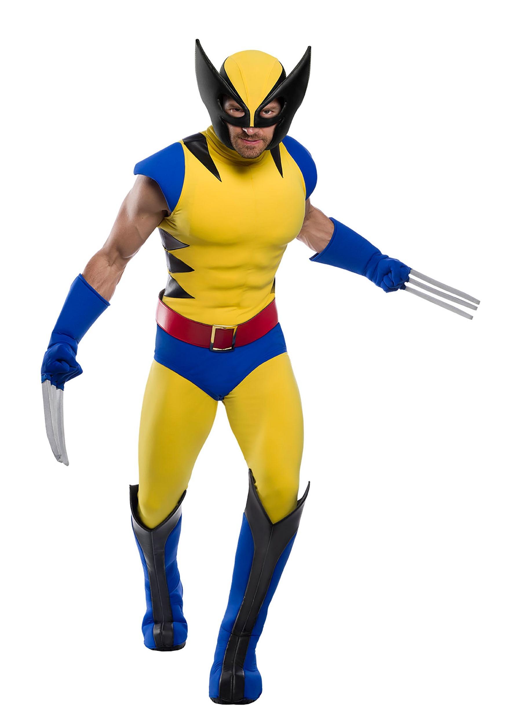 Premium Marvel Adult Wolverine Costume | Wolverine Marvel Costume