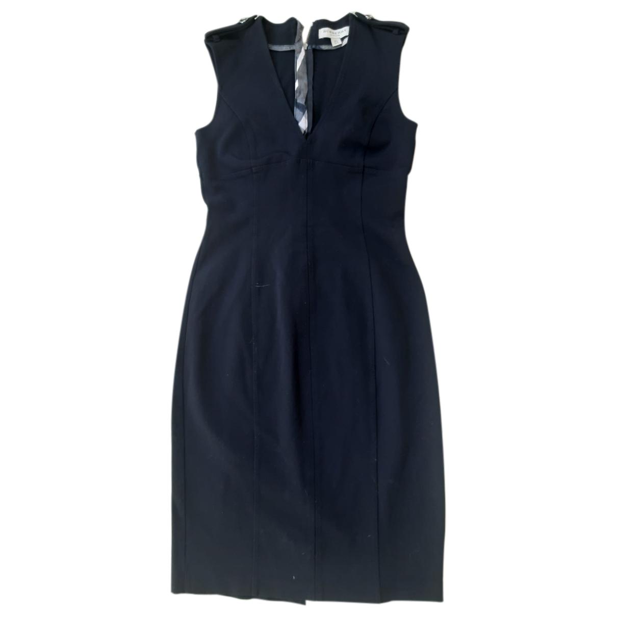 Burberry \N Kleid in  Schwarz Polyester