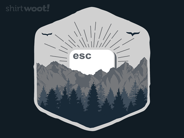 Esc To Nature T Shirt