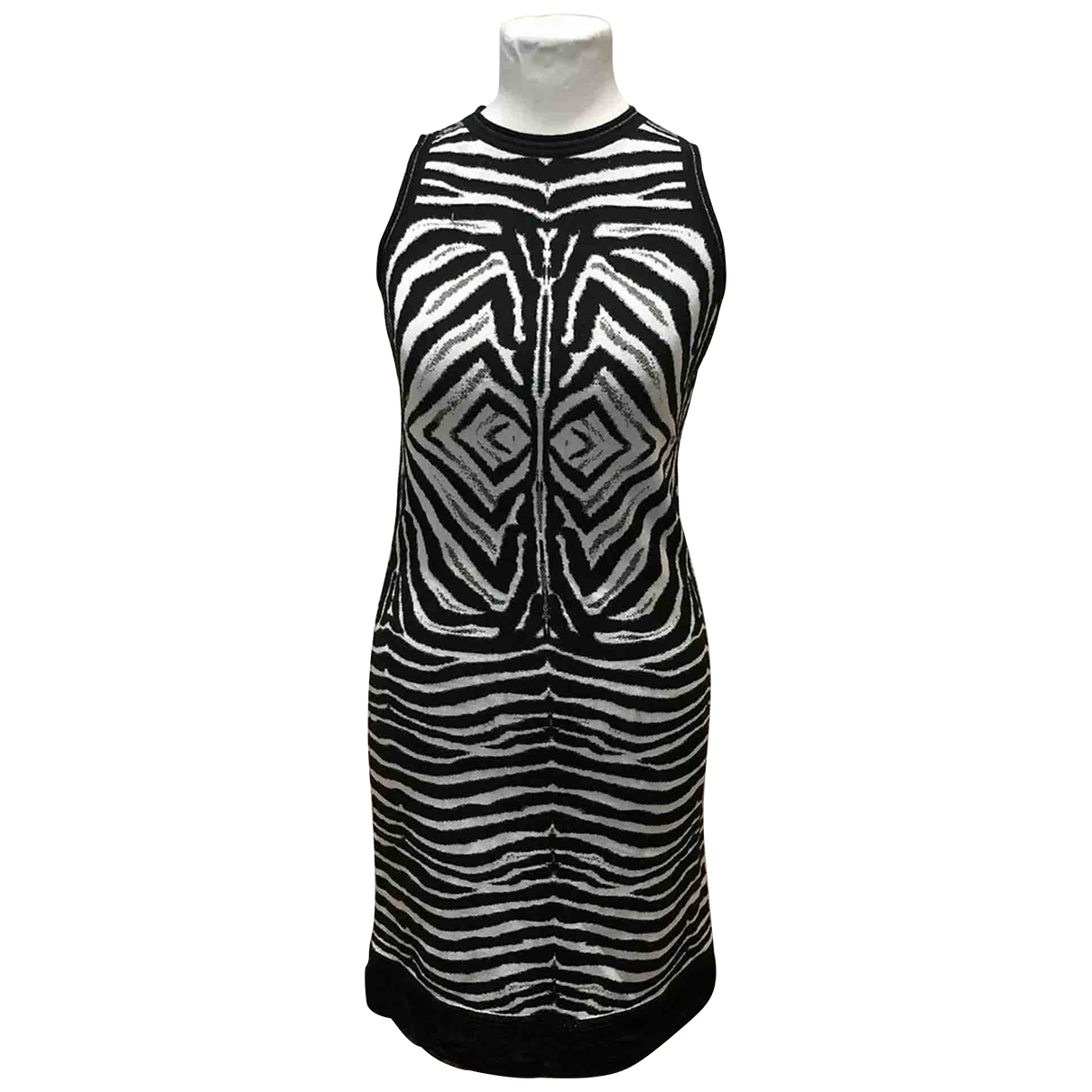 Roberto Cavalli \N Cotton - elasthane dress for Women 40 IT