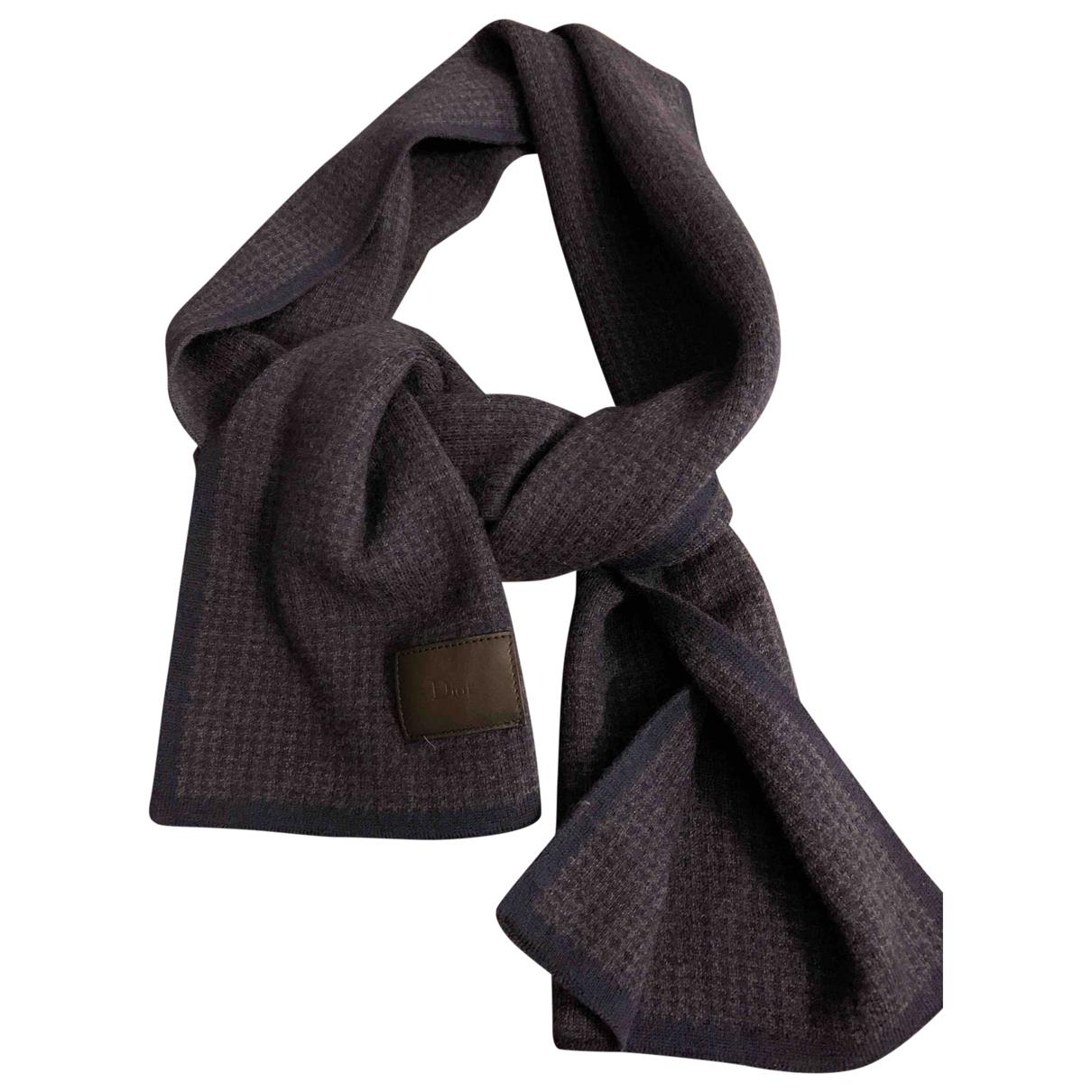 Pañuelo / bufanda de Lana Dior Homme