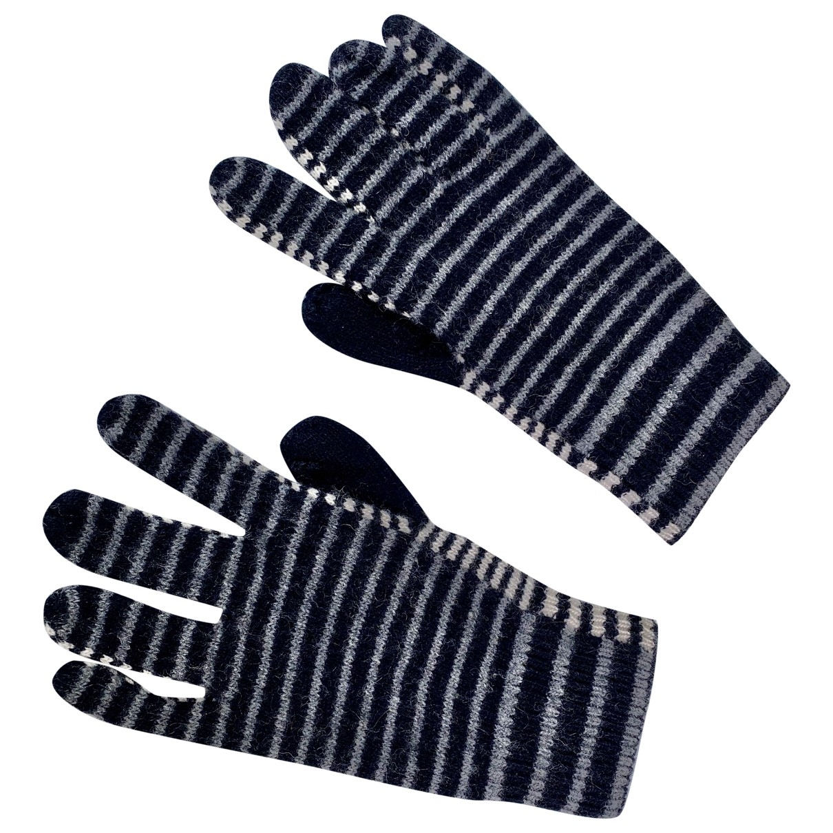 Paul Smith \N Grey Wool Gloves for Women 8 Inches