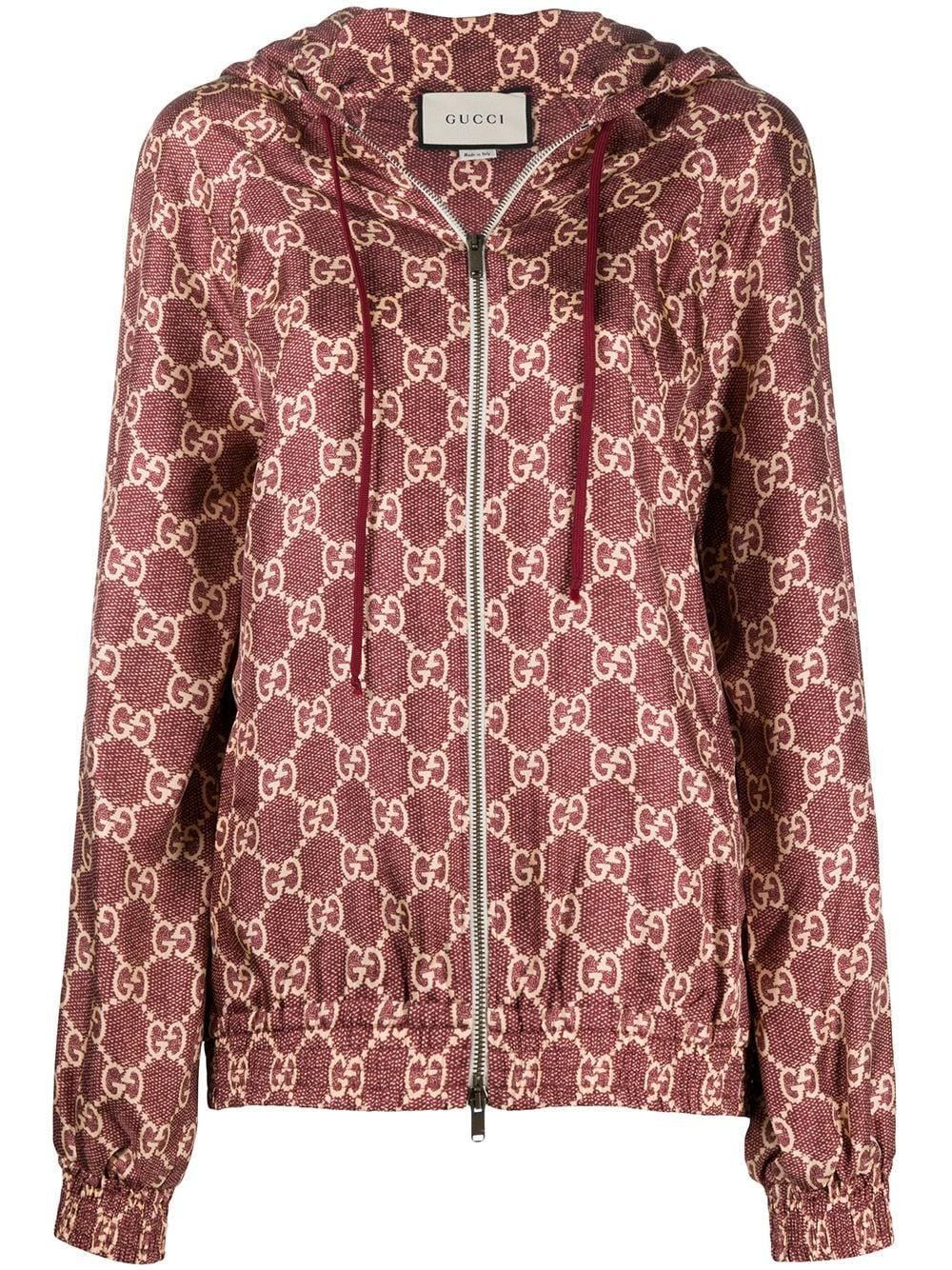Gg Supreme Silk Blend Jacket