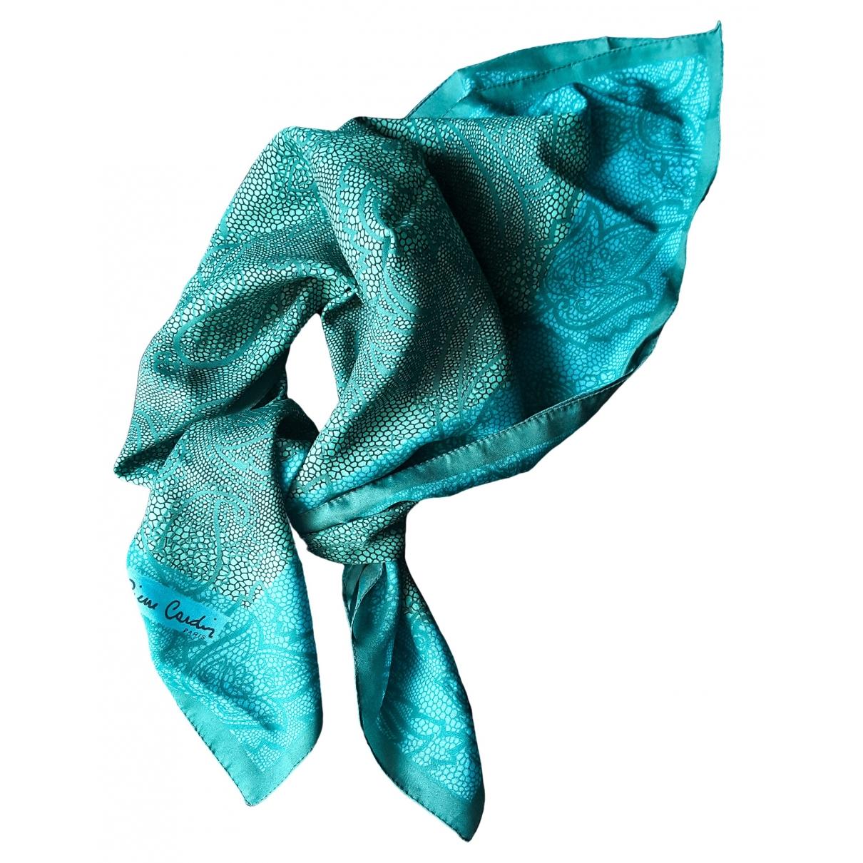 Pierre Cardin - Foulard   pour femme en autre - turquoise