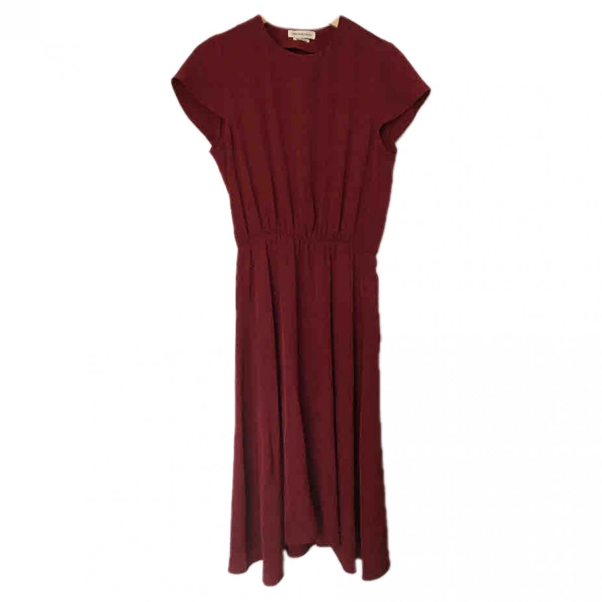 Isabel Marant Etoile \N Burgundy dress for Women 38 FR