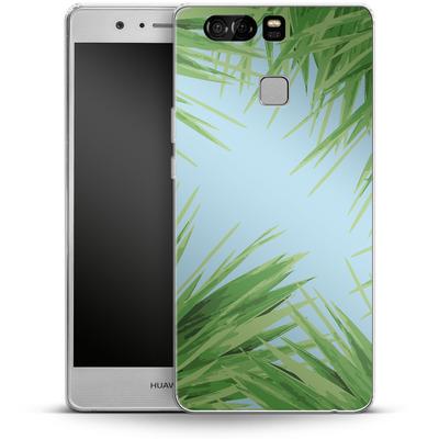 Huawei P9 Silikon Handyhuelle - Aloe von Mukta Lata Barua