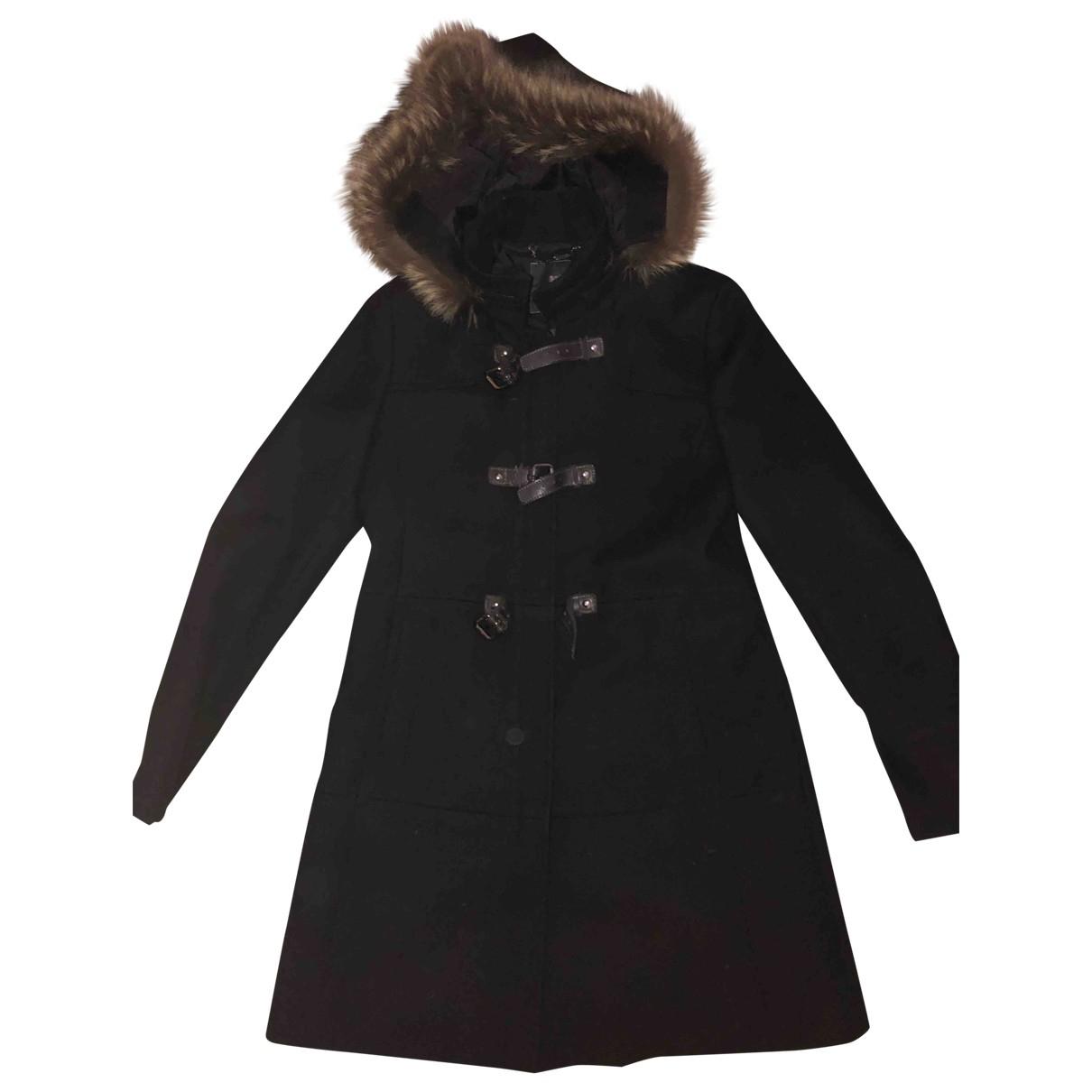 Mabrun - Manteau   pour femme en laine - noir