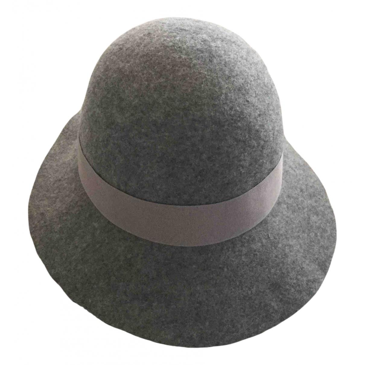 Stella Mccartney - Chapeau   pour femme en laine - gris