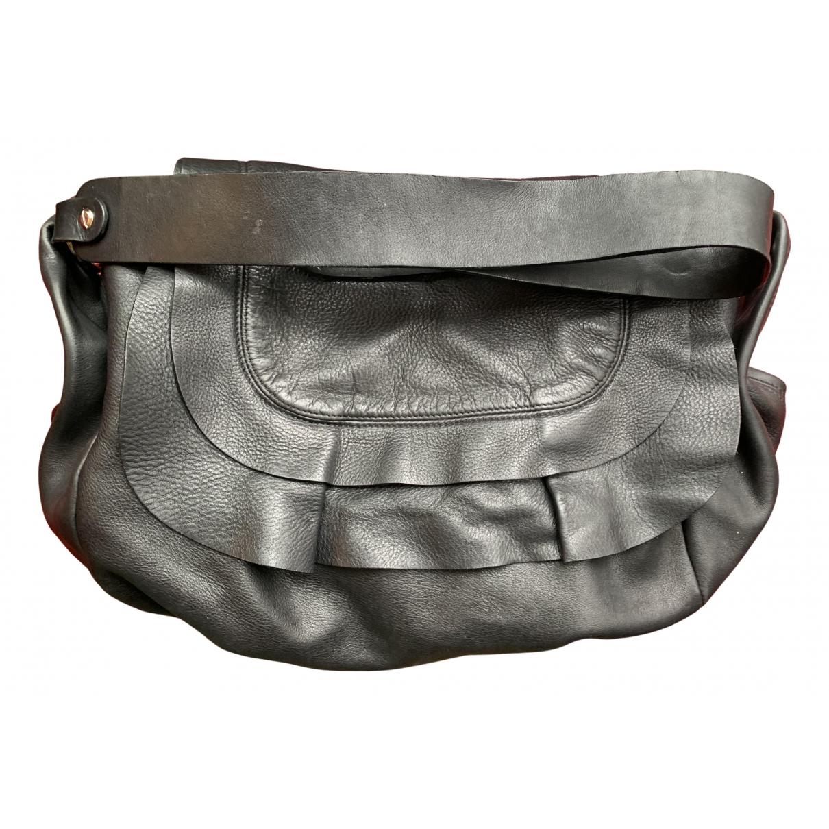Marni \N Handtasche in  Schwarz Leder