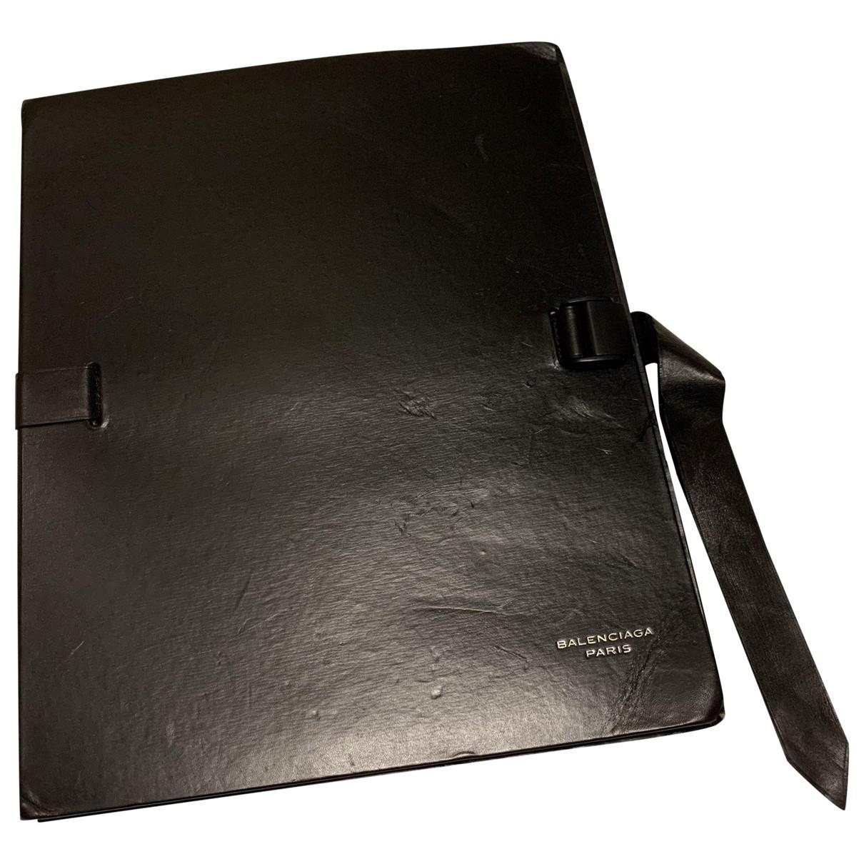 Balenciaga - Objets & Deco   pour lifestyle en cuir - noir