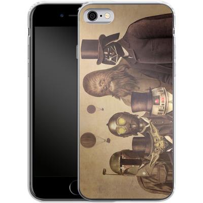 Apple iPhone 6 Silikon Handyhuelle - Victorian Wars von Terry Fan