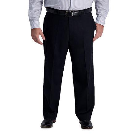 Haggar-Big and Tall Mens Classic Fit, 48 29, Black