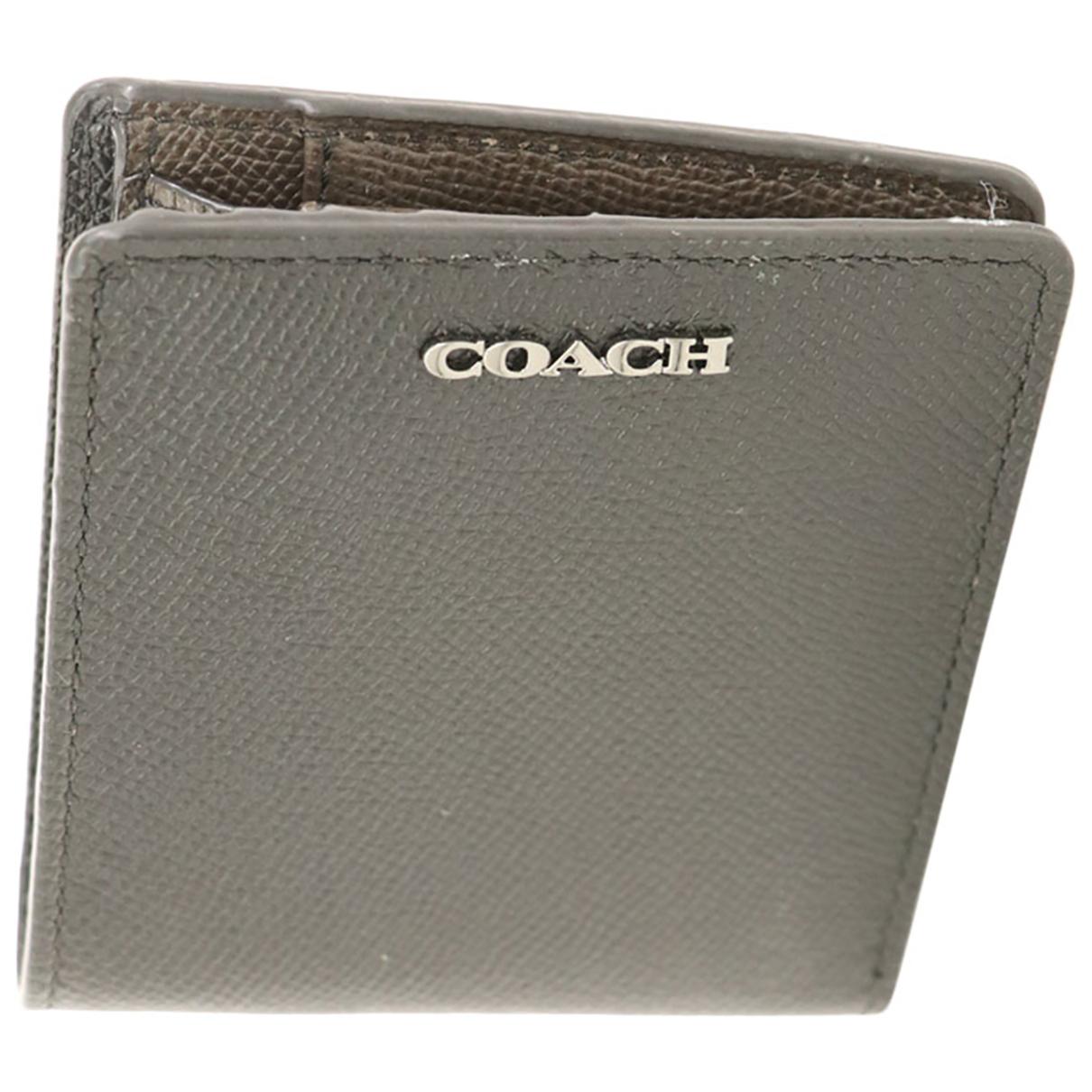 Coach \N Portemonnaie in Leder