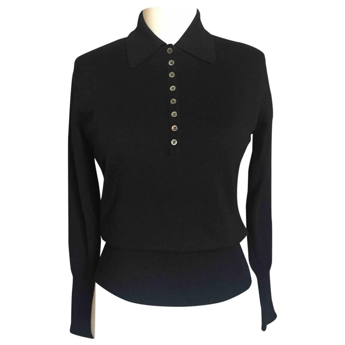 Cacharel \N Pullover in  Schwarz Wolle