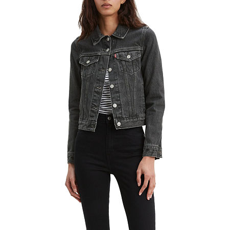 Levi's Original Trucker Jacket, Medium , Black